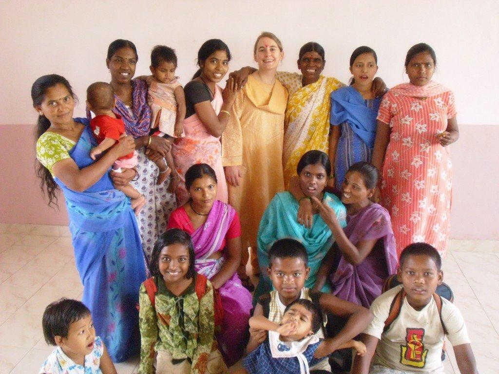 Vatsalyadham-Frauen und ich