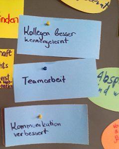 Sozialkompetenztraining bringt die Teilnehmer dazu den Perspektivwechsel zu wagen