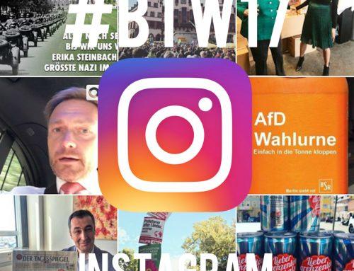 #btw17   Wahlkampf auf Instagram: Storytelling mit Bildern